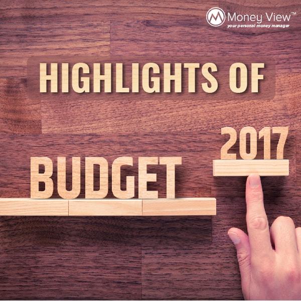 Highlights budget 2017
